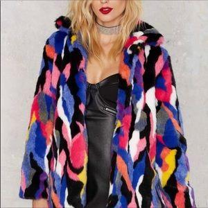 Ocposh30 favorite colorful coat nastygal